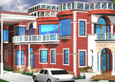 PROJECTS : MR KUSHAL NAGAR  ,BUILDUP AREA : 6500 sqft  ,  LOCATION : Gujrat