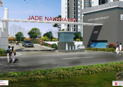 PROJECT : HAPPY HOME  , BUILDUP AREA : 11,67,000 sqft ,  LOCATION : Mumbai